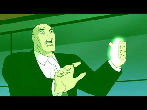 Lex Luthor arrested by the Justice League