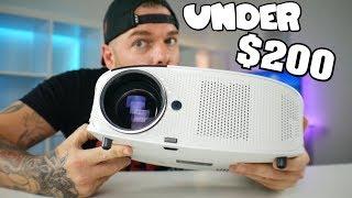 Best Gaming Projector Under $200 of 2018   Vankyo Leisure 510 Review