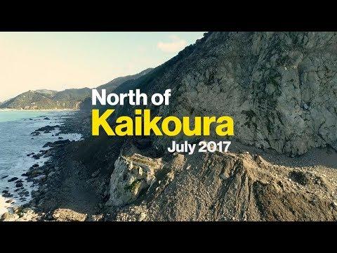 North of Kaikoura July 2017