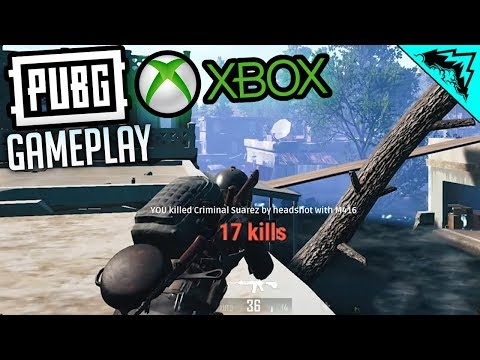 PUBG XBOX ONE GAMEPLAY = FREE KILLS! (PlayerUnknown's Battlegrounds Xbox One Impressions & Gameplay)