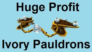 NEW LIMITED ROBLOX! HUGE PROFIT OPPORTUNITY! (Ivory Bloom Pauldrons)