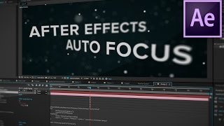 After Effects Tutorial: Link Focus Distance to Layer (Quick Tip)