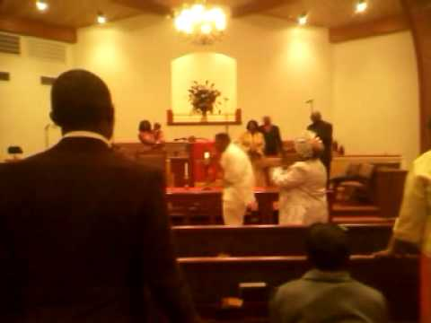 Rev. Jamel Brown in action.