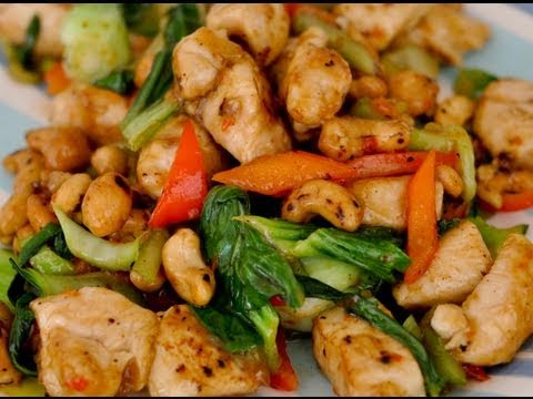 Spicy chicken with cashew nuts recipe