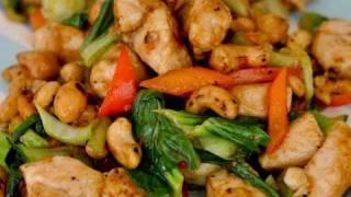 Recipe For Spicy Cashew Chicken