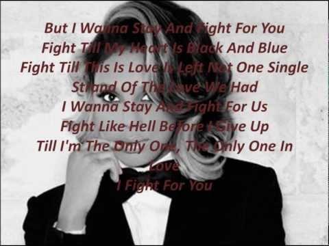 Tamar Braxton-Stay And Fight Lyrics