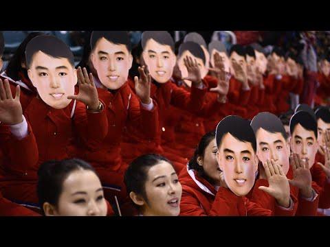 Meet North Korea's Winter Olympics cheerleading squad