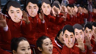 Meet North Korea's Winter Olympics cheerleading squad