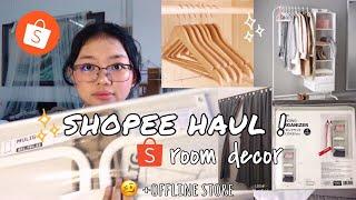 ROOM DECOR HAUL; Shopee & Offline store unbox! 🛍|| Fuheechi