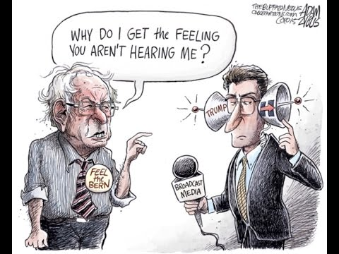 A Funny Thing Happened Along The Way To An Objective NPR Bernie Sanders Interview