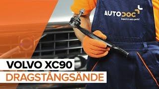 Montering Styrekugle VOLVO XC90: videoinstruktioner