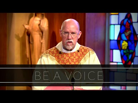 Be A Voice | Homily: Father Paul Ring