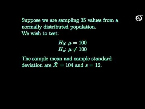 Hypothesis tests on one mean:  t test or z test?