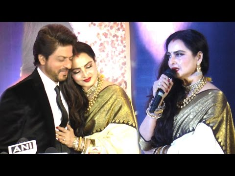 Emotional Rekha CRIES On Stage While Praising Shahrukh Khan Full Speech