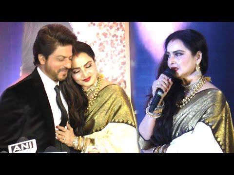 Emotional Rekha CRIES On Stage While Praising Shahrukh Khan Full Speech