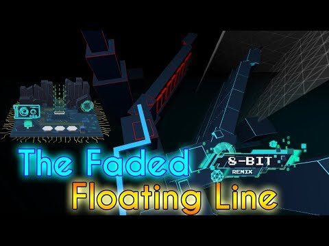 Dancing Line - The Faded (8bit Remix): Floating Line