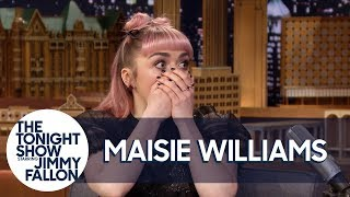 Download Maisie Williams Accidentally Drops a Major Spoiler in Game of Thrones' Final Season Mp3 and Videos