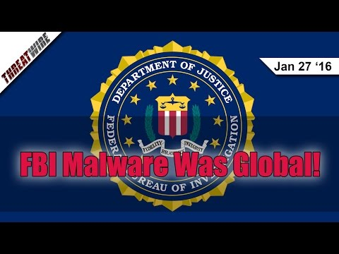 FBI Malware Goes Global, Can You Protect Your Childs ID? - Threat Wire