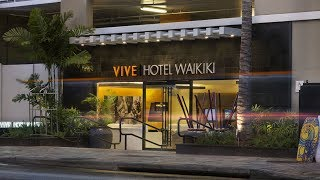 Vive Hotel Waikiki Hawaii US 2018