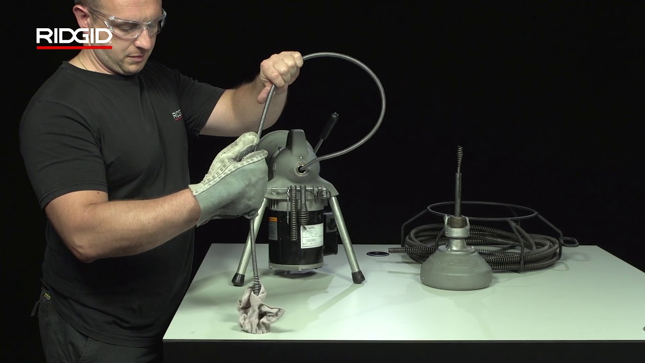 RIDGID K-50 Sectional Machine (K-50 분할 케이블 머신)