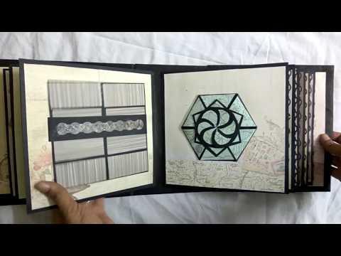 DIY - Birthday Scrapbook For Best Friend   Handmade Scrapbook Ideas   18 Greeting cards   2018