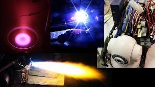 RANDOM BUILDING ~ Helium Liquefier, Rocket Engine, ROV, Superconductors...