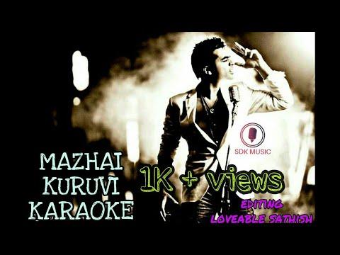 Mazhai Kuruvi    Karaoke    #ccv   