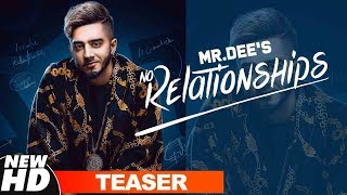 Teaser | No Relationships | Mr. Dee | Western Penduz | Releasing On 25 Jan 2019 | Speed Records