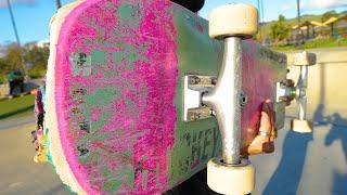 WORST BOARD AT THE SKATEPARK FREMONT SKATEPARK CRAZ NESS