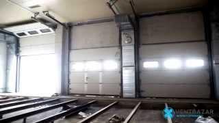 видео тепловая завеса