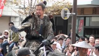 2016年4月24日、長野県上田市にて行われた「第34回上田真田まつり」の真...