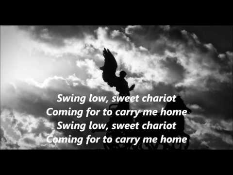 Swing Low, Sweet Chariot words lyrics SPIRITUAL best top popular favorite ing along song songs
