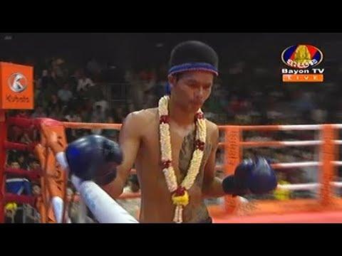 Seng Sroeun vs Phet Ngam(thai), Khmer Boxing Bayon 18 Aug 2017, Kun Khmer vs Muay Thai