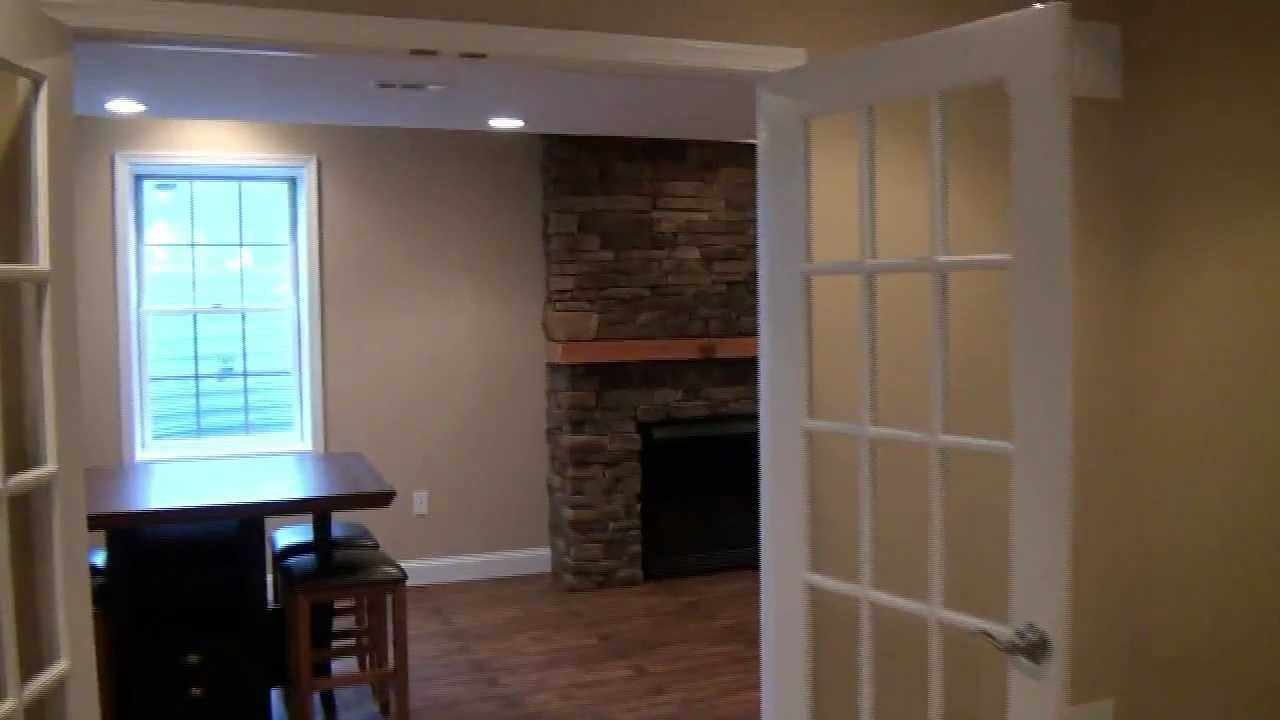 Basement finishing design ideas hd version youtube - Finished basements ideas ...