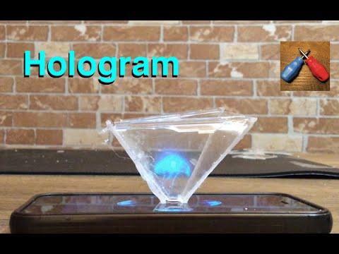 Ev Yapımı Hologram Piramit Türkçe Kendin Yap Youtube