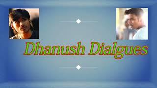 Dhanush mass dialogues