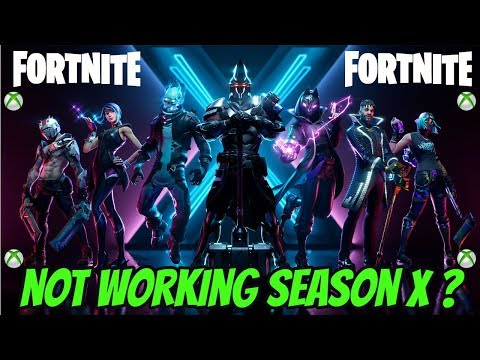 Fortnite Not Working Season X Fix (XBOX)