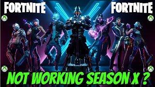 Fortnite Not Working Season X Fix (XBOX)
