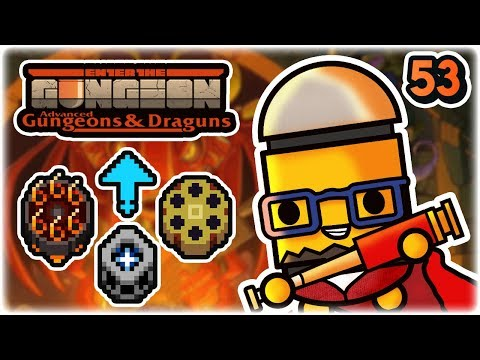 Hellhole Synergy | Part 53 | Let's Play: Enter the Gungeon Advanced Gungeons and Draguns