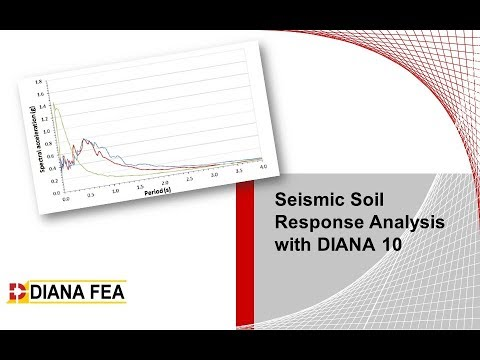 Seismic Soil Response Analysis with DIANA