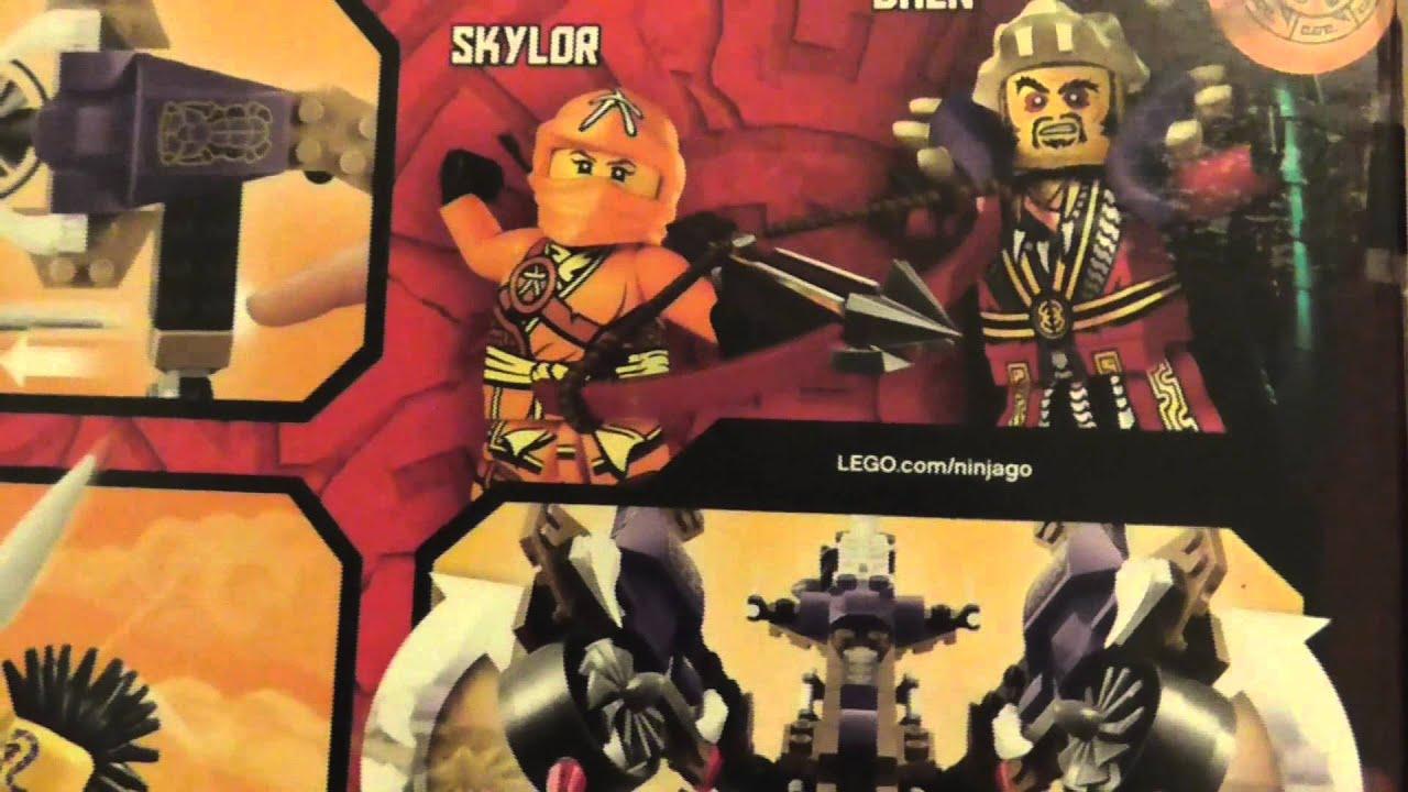 Lego Ninjago 2015 Set Haul
