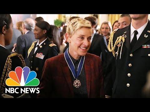 Ellen DeGeneres Among President Obama's Medal Of Freedom Recipients   NBC News