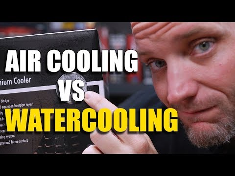 Custom Waterloop vs Noctua NH-D15 AIR COOLING FTW?!