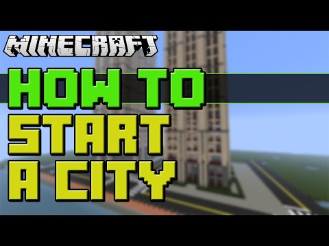 How To Start Building A City In Minecraft