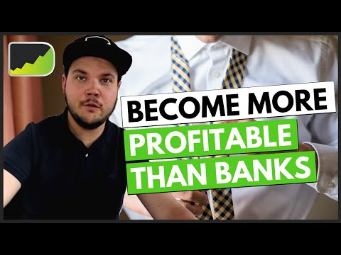 How to be BETTER than BANK TRADERS (5 proven methods!)