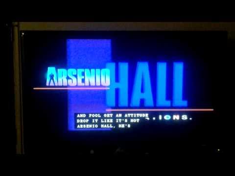 Arsenio Hall Communications/Octagon/Tribune Broadcasting/CBS TV Distribution logos