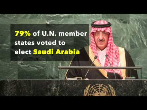 #ExpelSaudi Arabia from the UN Human Rights Council