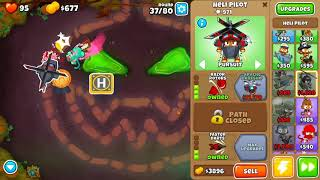 Bloons TD 6 - Hard, Double HP Moabs , Carved, (NO MONKEY KNOWLEDGE)