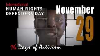 Click to View : 16 Days of Activism Against Gender Violence