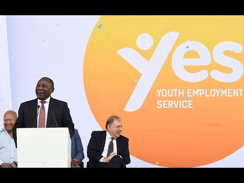 President Cyril Ramaphosa launches the Youth Employment Service Initiative in Fourways